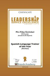 Spanish Language Trainer of the Year