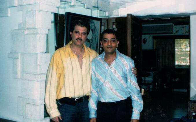 Mr. Dinesh Govindani with Bollywood actor Anil Kapoor