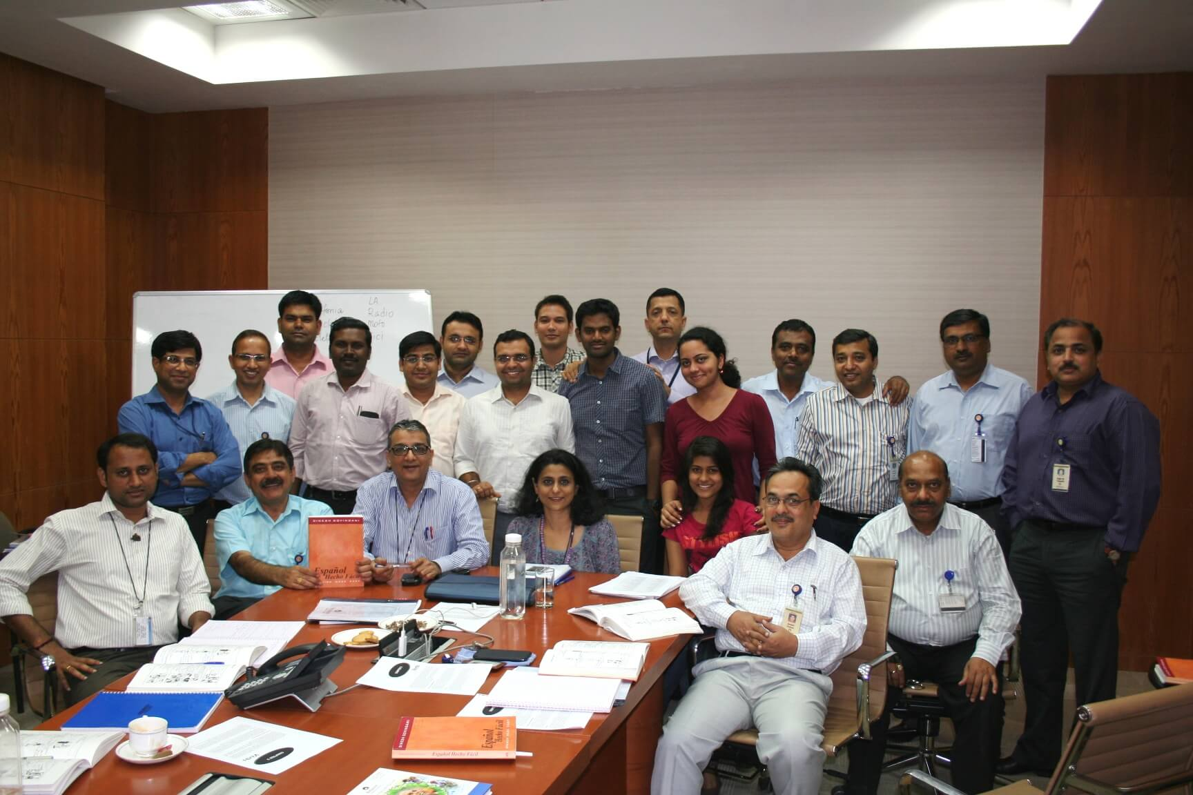 Mr. Dinesh Govindani during the training for Reliance Industries Limited RIL