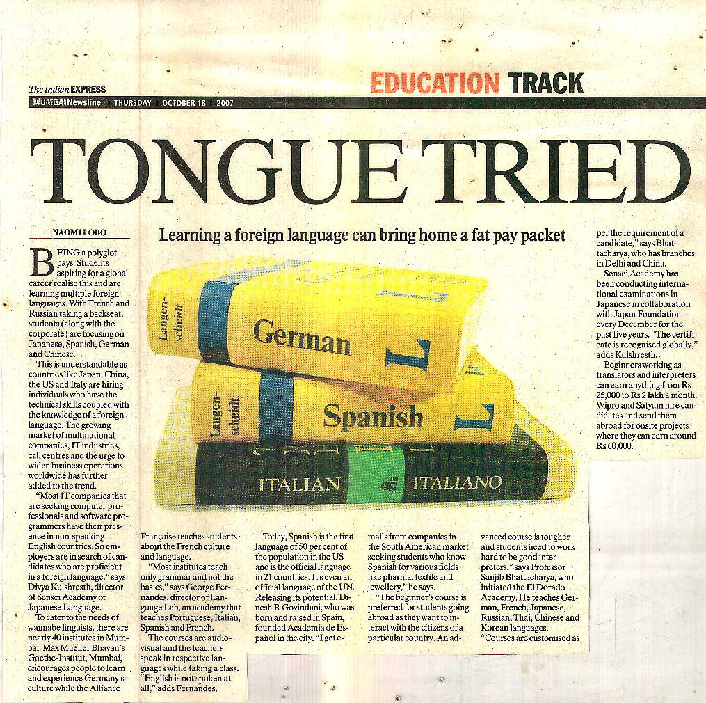The Indian Express - Tongue Tried