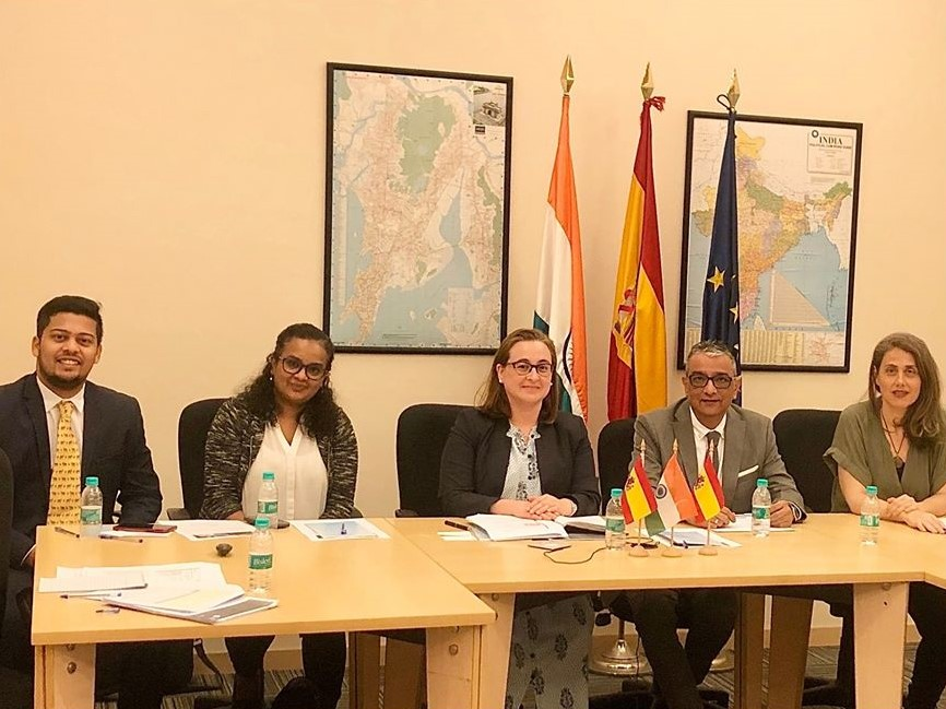 Mr. Dinesh Govindani at the Study in Spain conference held in Mumbai with the Commercial and Economic Office of the Spanish Government and the Embassy of Spain in India to share his inputs on the importance and diffusion of Spanish as a foreign language