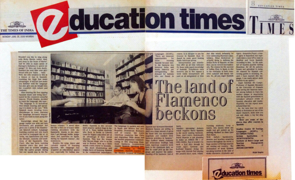 Education Times - The Land of Flamenco Beckons
